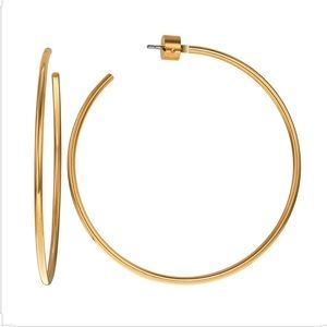 Michael Kors Gold Hoops